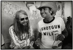 Leon Russell & Willie Nelson: Photo by Jim Marshall